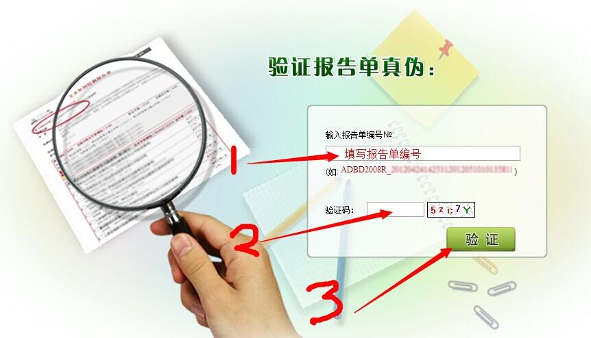 学术不端报告单验证方法